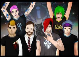 FiXT crew by Lynxxy83