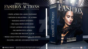 Actions for Photoshop / Fashion Collection