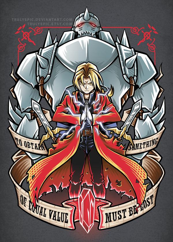 Fullmetal Alchemist Brotherhood By Trulyepic On Deviantart