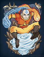 Aang by TrulyEpic