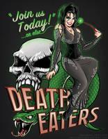 Deatheaters Unite - Bellatrix Lestrange pinup by TrulyEpic