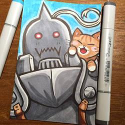 Alphonse Loves Cats