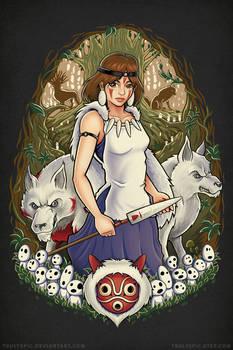 Princess Mononoke - Guardian of the Forest
