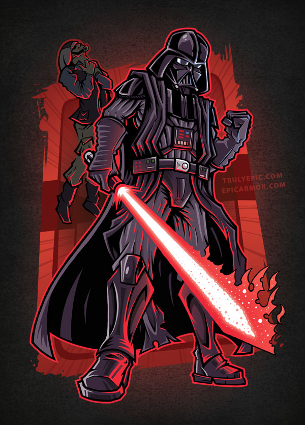 The Sith Lord - Darth Vader by TrulyEpic