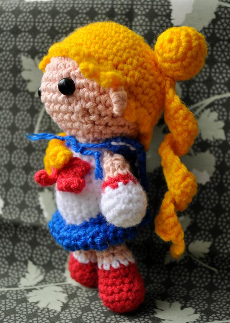 Amigurumi Seilor Moon : Sailor amigurumi 02 by Pikarie on DeviantArt