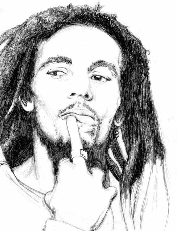 Bob Marley By El Hada De Gominolas On Deviantart Bob Marley Desenho Para Colorir