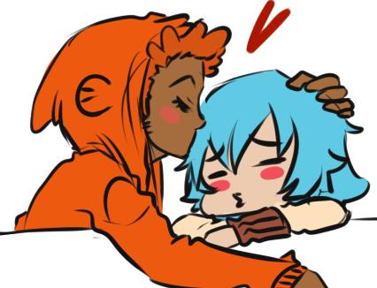 TAWOG - And a little kiss? by MitarashiBoi