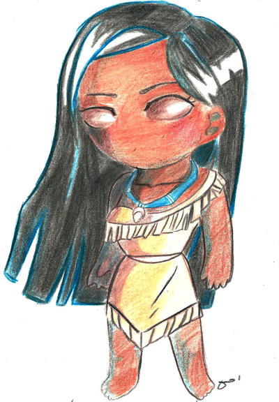 Pocahontas (Disney) by aoi-milk
