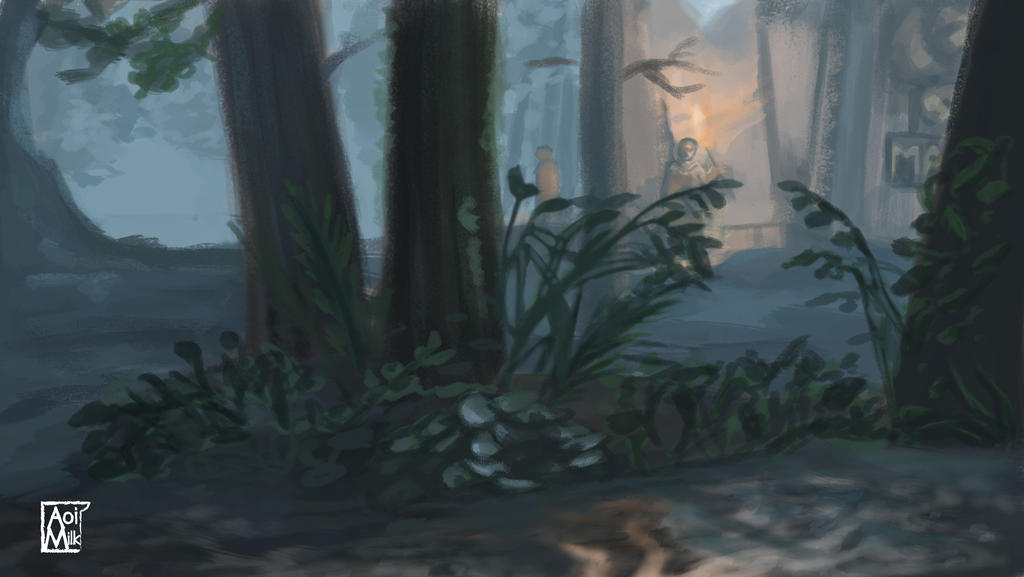 Study from The Last Of Us 2