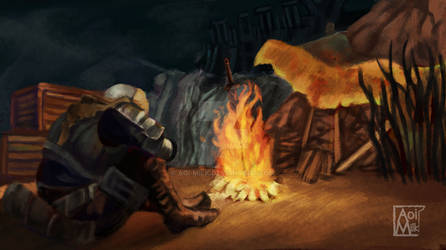 Dark Soul Campfire Etude