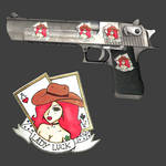 Lady Luck. (CSGO Sticker) by AngelosAtelier
