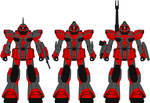 Dragon Fleet Mobile Suits