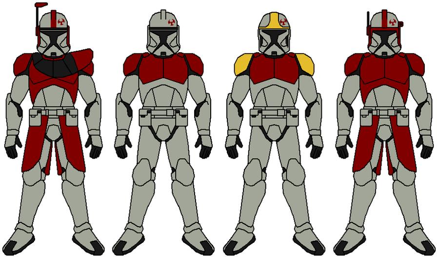 Dragon Fleet Clone Troopers By Zerg170 On DeviantArt