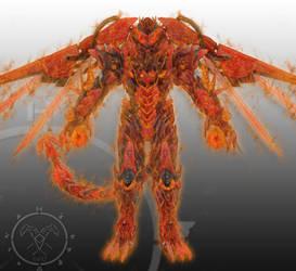 Draconis Rex Fire God Mode