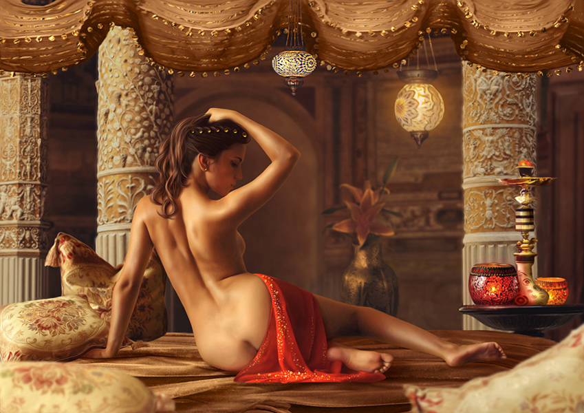 My Odalisque by Dazy-Girl