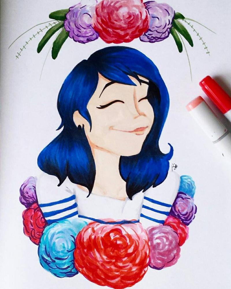 Happy Ladybug by LovelyLaceyLattes