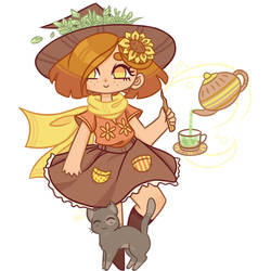 Herb Witch by Avi3te