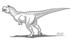BEHOLD. Carnotaurus.