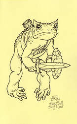Warrior Toad by breakbot