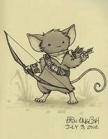 Mouse Guard Character by breakbot