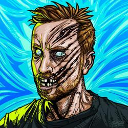 Zombie Jeff by breakbot