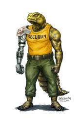Lizard Bouncer