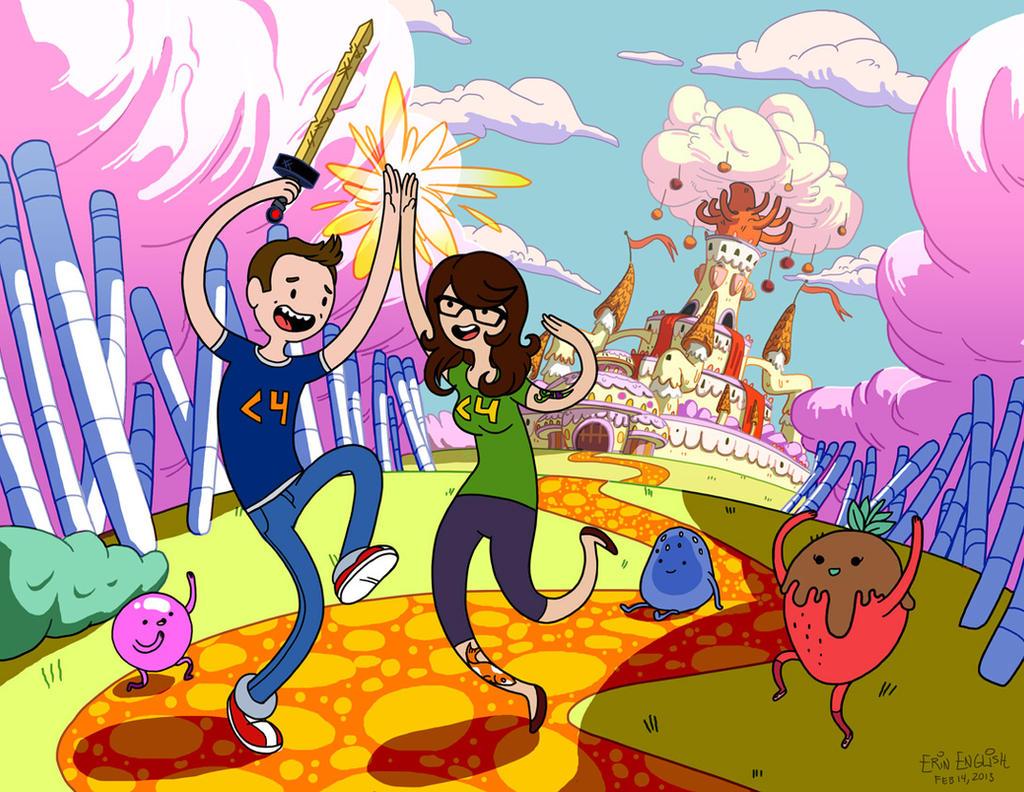Fun Fun Adventure Times! by breakbot