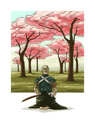 Sakura Samurai by breakbot
