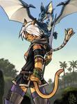 FFXI mithra dragoon