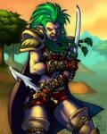 World of Warcraft Troll Rogue