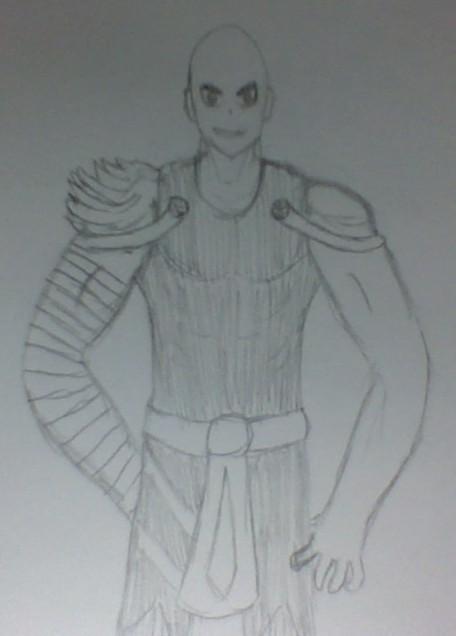 art trade: Gilgamesh by 12greenboy123