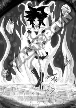 SunGoku Fanart for Shindra
