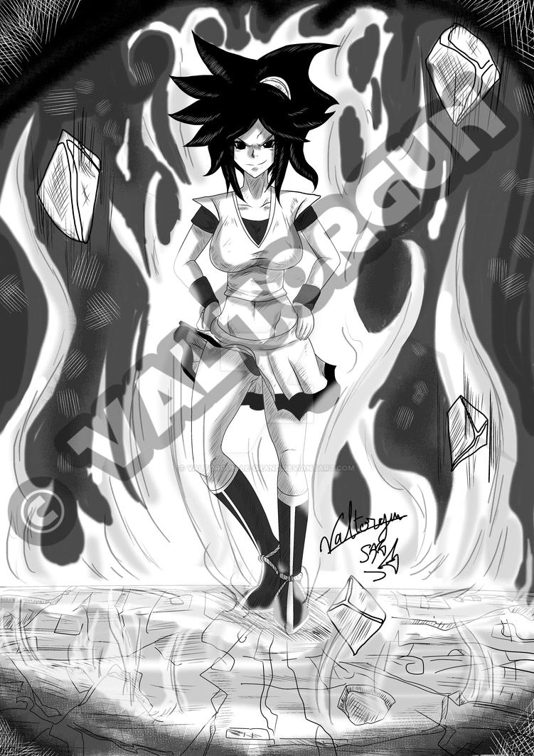 SunGoku Fanart for Shindra by Valtorgun-le-Grand