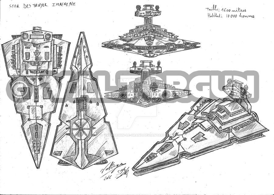 Star Destroyer Design By Valtorgun Le Grand On Deviantart