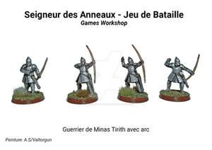 Minas Tirith warrior with bow