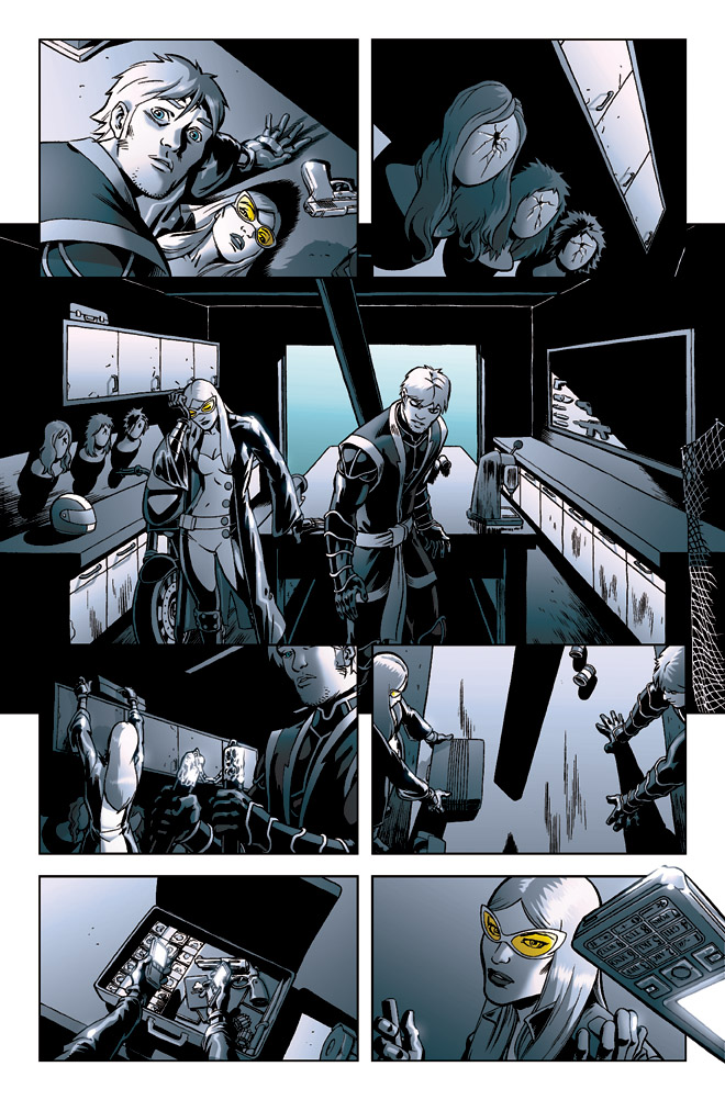 New Avengers Reunion 2,p.6 by ilpuci