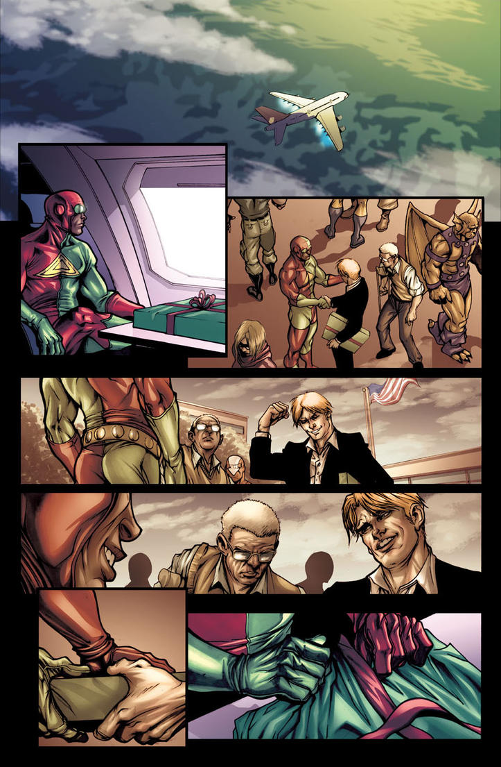 Avengers:The Initiative 14,p.7 by ilpuci