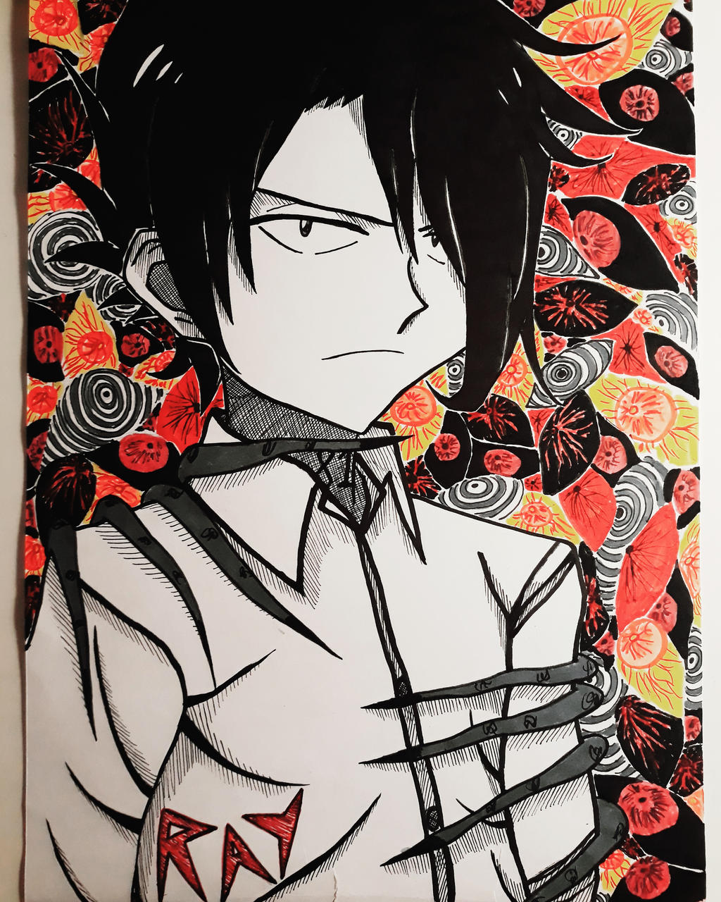 The Promised Neverland - Ray by ShindaAi on DeviantArt