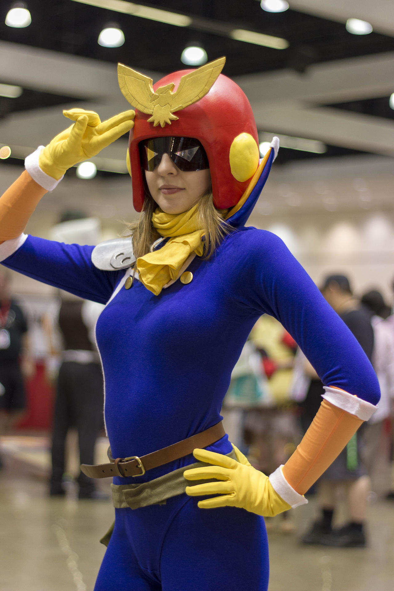 Captain Falcon From F Zero By  F Zero Captain Falcon