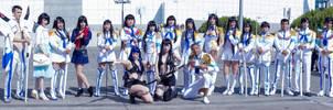 Anime Expo 2014 Kill La Kill Satsuki Group by MrJoshBox