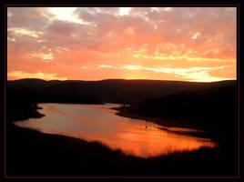 Sunset III by Arathrim