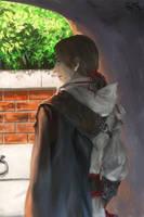 AC2 Young Ezio by ert0412