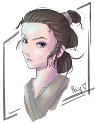 Collaboration Rey by PixelationGirl