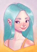 Turquoise by PixelationGirl