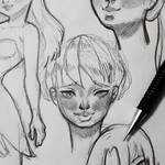 Faces sketch