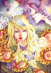 flowers and butterflies by sinvia