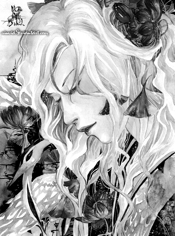 Dreams-Black and white by sinvia