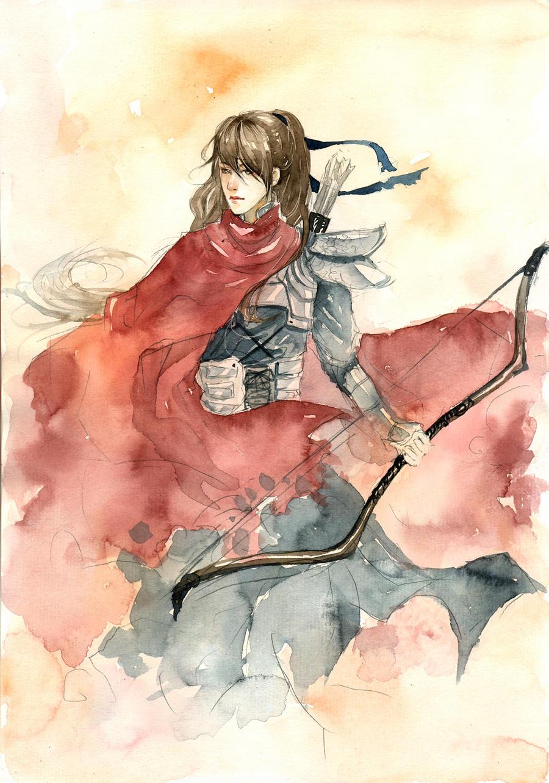 My OC : Hong Tu Tu by sinvia