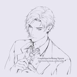 Portrait (line-art)