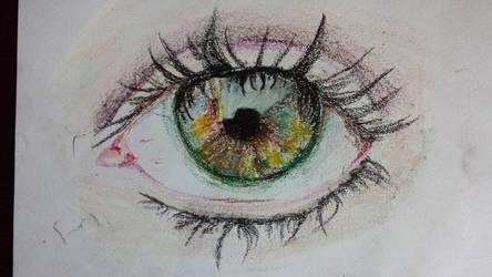 Eye Close Up: Pastel